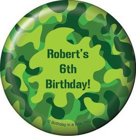 Camouflage Personalized Magnet (each)