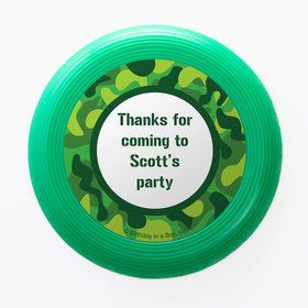 Camouflage Personalized Mini Discs (Set of 12)