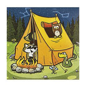 Camp Adventure Beverage Napkins (16 Count)