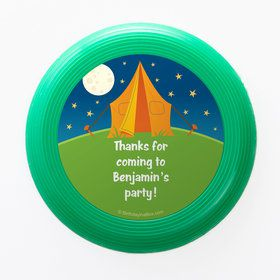 Camping Personalized Mini Discs (Set of 12)