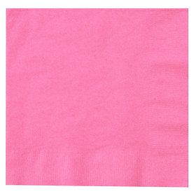 Candy Pink (Hot Pink) Lunch Napkins