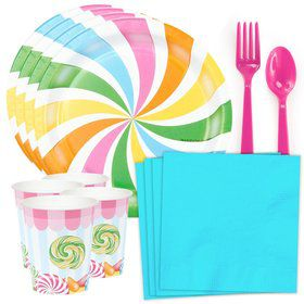 Candy Shoppe Standard Tableware Kit (Serves 8)