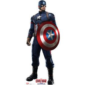 Captain America Civil War Cardboard Standup Decoration (Each)