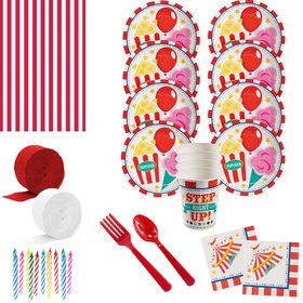 Carnival Deluxe Tableware Kit (Serves 8)