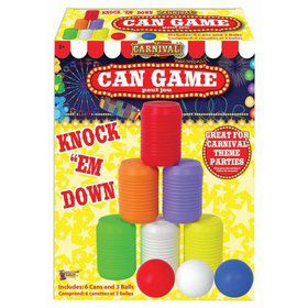 Carnival Knock The Can Down Game