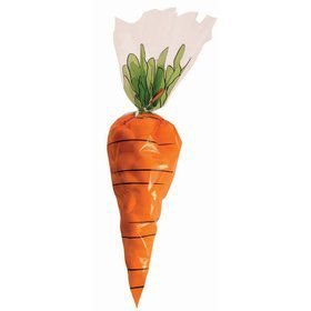 Carrot Printed Treat Bags (12)