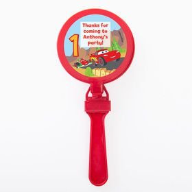 Cars 1st Birthday Personalized Clappers (Set of 12)