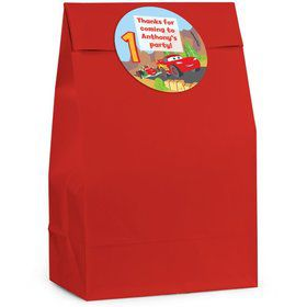 Cars 1st Birthday Personalized Favor Bag (Set Of 12)