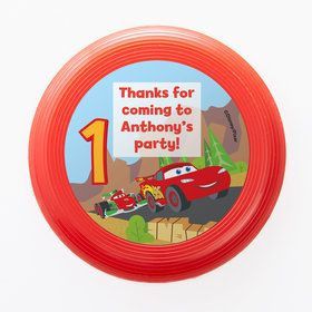 Cars 1st Birthday Personalized Mini Discs (Set of 12)