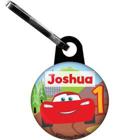 Cars 1st Birthday Personalized Mini Zipper Pull (Each)