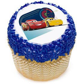 "Cars 2"" Edible Cupcake Topper (12 Images)"