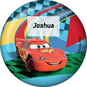 Cars 2 Personalized Button (Each)
