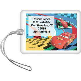 Cars 2 Personalized Luggage Tag (Each)