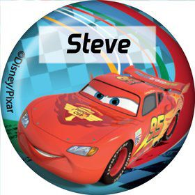 Cars 2 Personalized Mini Button (Each)