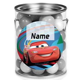 Cars 2 Personalized Mini Paint Cans (12 Count)