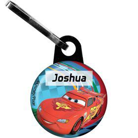 Cars 2 Personalized Mini Zipper Pull (Each)