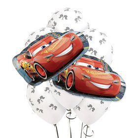 Cars 3 8 pc Balloon Kit
