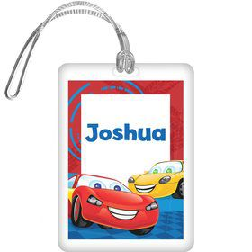 Cars Too Personalized Bag Tag (each)