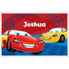 Cars Too Personalized Placemat (each)