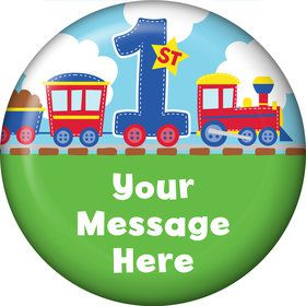 Cars, Trucks, & Trains Personalized Magnet (Each)
