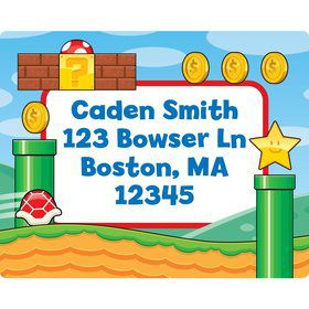 Cart Brothers Personalized Address Labels (Sheet Of 15)