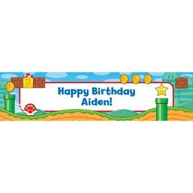 Cart Brothers Personalized Banner (Each)