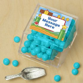 Cart Brothers Personalized Candy Bin with Candy Scoop (10 Count)