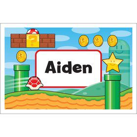 Cart Brothers Personalized Placemat (Each)
