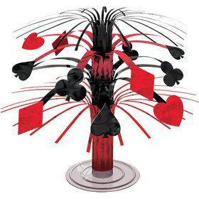 Casino Mini Cascade Centerpiece Decoration (Each)