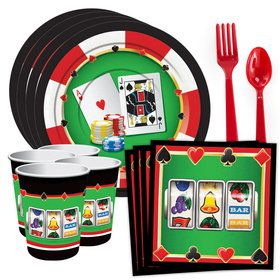 Casino Standard Tableware Kit (Serves 8)