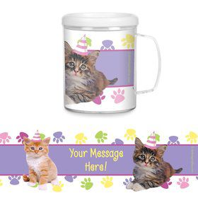 Cat Party Personalized Favor Mugs (Each)