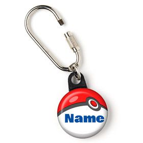 "Catch 'Em All Personalized 1"" Carabiner (Each)"