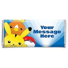 Catch 'Em All Personalized Candy Bar Wrapper (Each)