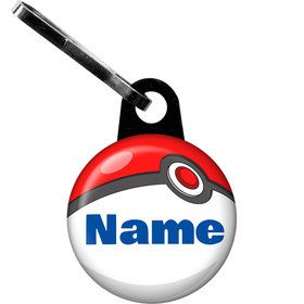 Catch 'Em All Personalized Zipper Pull (Each)