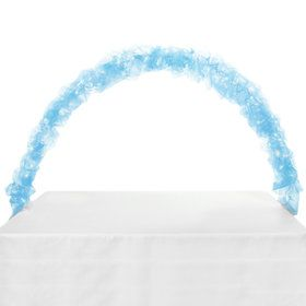 Celebration Tulle Light Arch-Light Blue