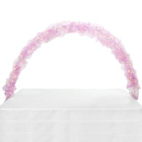 Celebration Tulle Light Arch-Pink