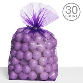 Cello Bags Purple (30 Count)