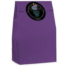 Chalk Birthday Personalized Favor Bag (12 Pack)