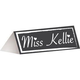 Chalkboard Placecards (12 Pack)