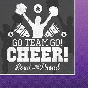 Cheer Luncheon Napkin (16 Count)