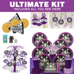 Cheer Spirit Ultimate Tableware Kit (Serves 8)