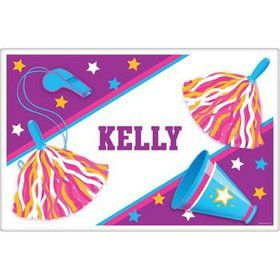 Cheerleader Personalized Placemat (each)