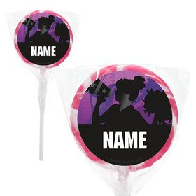 "Cheerleading Personalized 2"" Lollipops (20 Pack)"