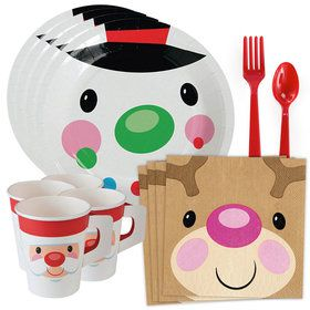 Cheery Christmas Standard Tableware Kit (Serves 8)