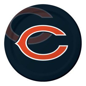 "Chicago Bears 9"" Luncheon Plates (8 Count)"