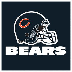 Chicago Bears Luncheon Napkins (16 Count)
