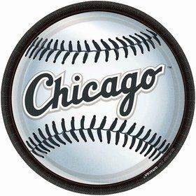 "Chicago White Sox Plates, 9"" (18 Pack)"