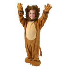 Child Cuddly Little Lion Costume