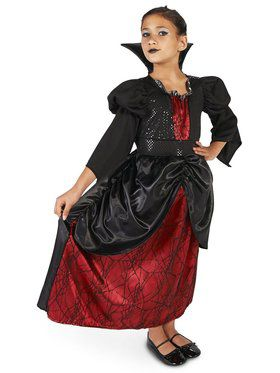 Child Little Vampire Queen Costume