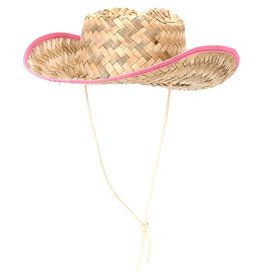 Child Straw Cowboy Hat - Western Wear